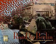 Board Game: Panzer Grenadier: Road to Berlin