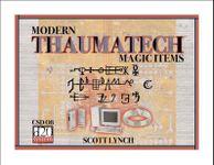 RPG Item: Thaumatech: Modern Magic Items