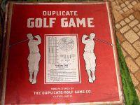 Board Game: Duplicate Golf Game