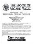 RPG Item: The Book of Arcane Magic Web Enhancement: Reborn Soul Sorcerer Bloodline