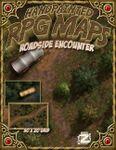 RPG Item: Handpainted RPG Maps: Roadside Encounter