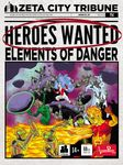 Board Game: Heroes Wanted: Elements of Danger