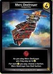 Board Game: Star Realms: Merc Destroyer Promo Card