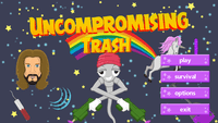 Video Game: Uncompromising Trash