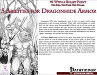 RPG Item: Bullet Points: 5 Abilities for Dragonhide Armor