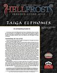 RPG Item: Hellfrost Region Guide #51: Taiga Elfhomes