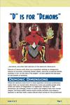 "RPG Item: ""D"" is for ""Demons"""