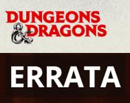Series: Dungeons & Dragons (5th Edition) Errata