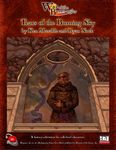 RPG Item: War of the Burning Sky #06: Tears of the Burning Sky (OGL d20 3.x)