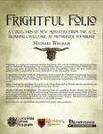 RPG Item: Frightful Folio