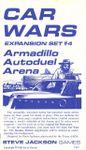 Board Game: Car Wars Expansion Set #4, Armadillo Autoduel Arena