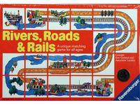 Board Game: Rivers, Roads & Rails
