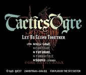 Some thoughts on    Tactics Ogre: Let us Cling Together