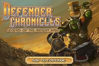 Video Game: Defender Chronicles - Legend of The Desert King