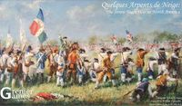 Board Game: Quelques Arpents de Neige: The Seven Years War in North America