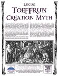 RPG Item: Toeffrun Creation Myth