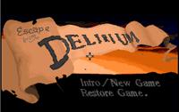 Video Game: Escape from Delirium