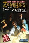 Board Game: Last Night on Earth: Zombies with Grave Weapons Miniature Set