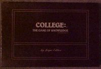 Board Game: College: The Game of Knowledge