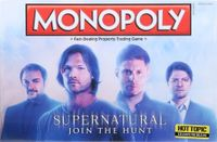Board Game: Monopoly: Supernatural Join The Hunt