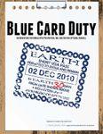 RPG Item: Blue Card Duty