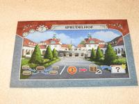"Board Game Accessory: Istanbul: Promo fountain tile ""Sprudelhof"""