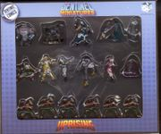 Board Game Accessory: Sentinel Tactics: Uprising – Miniatures
