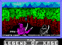 Video Game: The Legend of Kage