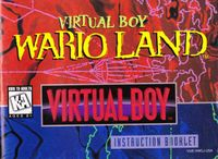 Video Game: Virtual Boy Wario Land
