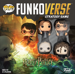 Board Game: Funkoverse Strategy Game: Harry Potter 4-Pack