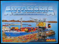 Board Game: Automania: The Game of the Motor Giants
