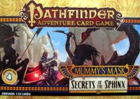 Pathfinder Adventure Card Game: Mummy's Mask – Adventure Deck 4: Secrets of the Sphinx
