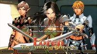 Video Game: Loren The Amazon Princess