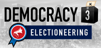 Video Game: Democracy 3: Electioneering