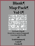 RPG Item: Blank Map Pack Vol 1