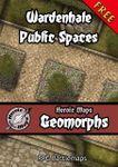 RPG Item: Heroic Maps Geomorphs: Wardenhale Public Spaces