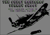 Video Game: The Great Marianas Turkey Shoot