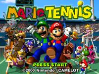 Video Game: Mario Tennis (N64)