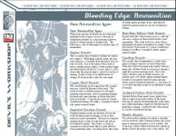 RPG Item: Bleeding Edge: Ammunition