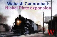 Board Game: Wabash Cannonball: Nickel Plate Expansion