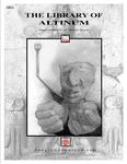 RPG Item: The Library of Altinum