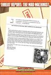 RPG Item: Threat Report #26: Mad Machinist