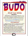 RPG Item: Budo: Hard Style Wushu