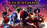 Board Game: Legendary: A Marvel Deck Building Game – Civil War