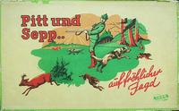 Board Game: Pitt und Sepp.. auf fröhlicher Jagd
