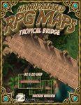 RPG Item: Handpainted RPG Maps: Tropical Bridge