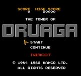 Video Game: The Tower of Druaga