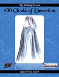 RPG Item: #30 Cloaks of Deception