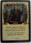 Board Game: Lords of Waterdeep: Inevitable Betrayal Promo Card