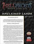 RPG Item: Hellfrost Region Guide #19: Unclaimed Lands